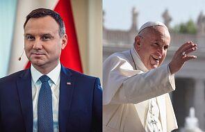 Prezydent Andrzej Duda rozmawiał z papieżem Franciszkiem