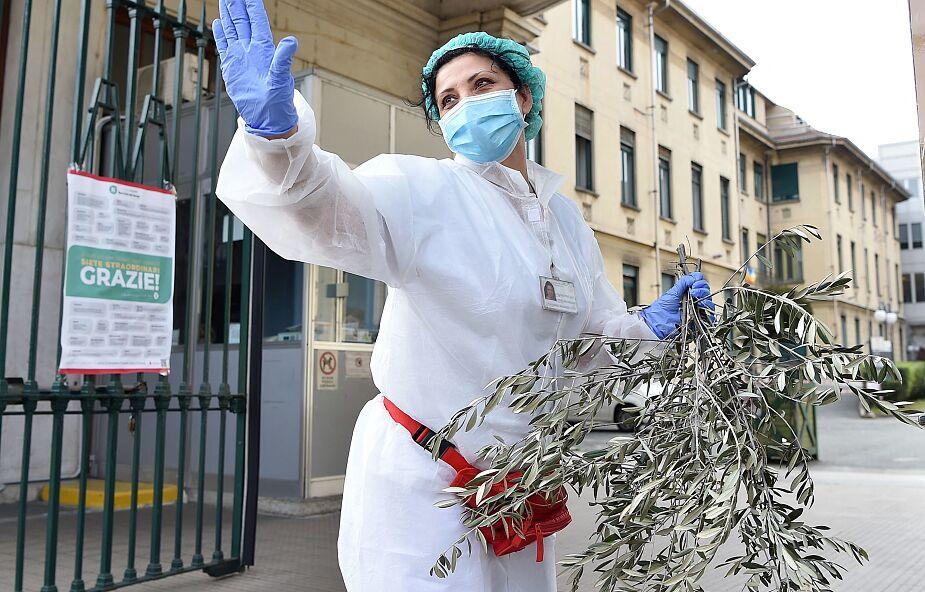 Włochy: ponad 4100 zakażonych koronawirusem pracowników służby zdrowia w Lombardii