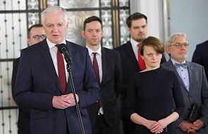 Zmiany w rządzie. Jarosław Gowin ogłosił swoją dymisję
