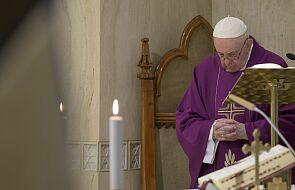 Papież modlił się za niesprawiedliwie skazanych