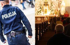 Policja interweniuje w kościołach. Duchowni nie przyjmują mandatów