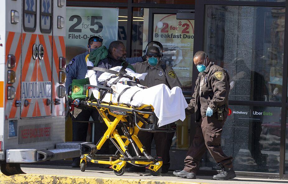 USA: 1150 zgonów z powodu koronawirusa w ciągu doby