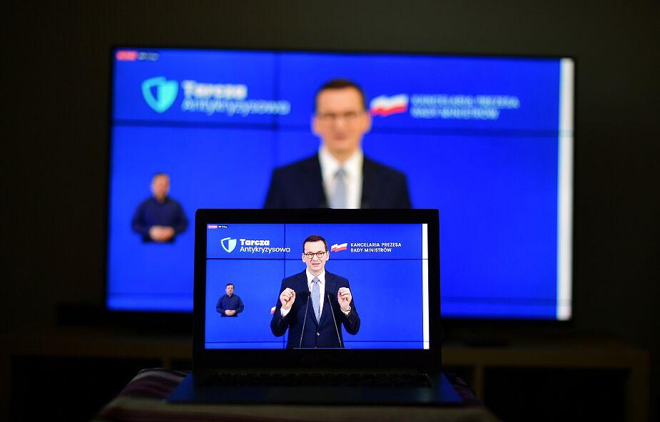 """Premier przedstawił """"tarczę finansową"""", czyli program wsparcia firm o wartości ponad 100 mld zł"""