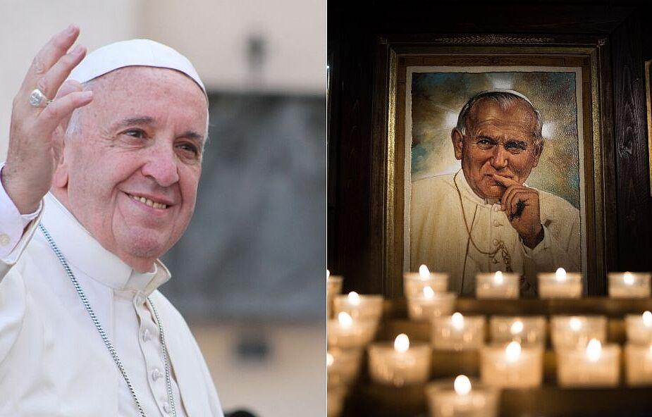 Tę modlitwę o wstawiennictwo Jana Pawła II ułożył sam papież Franciszek
