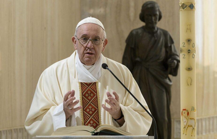 Franciszek: te cechy dobrego pasterza miał Jan Paweł II