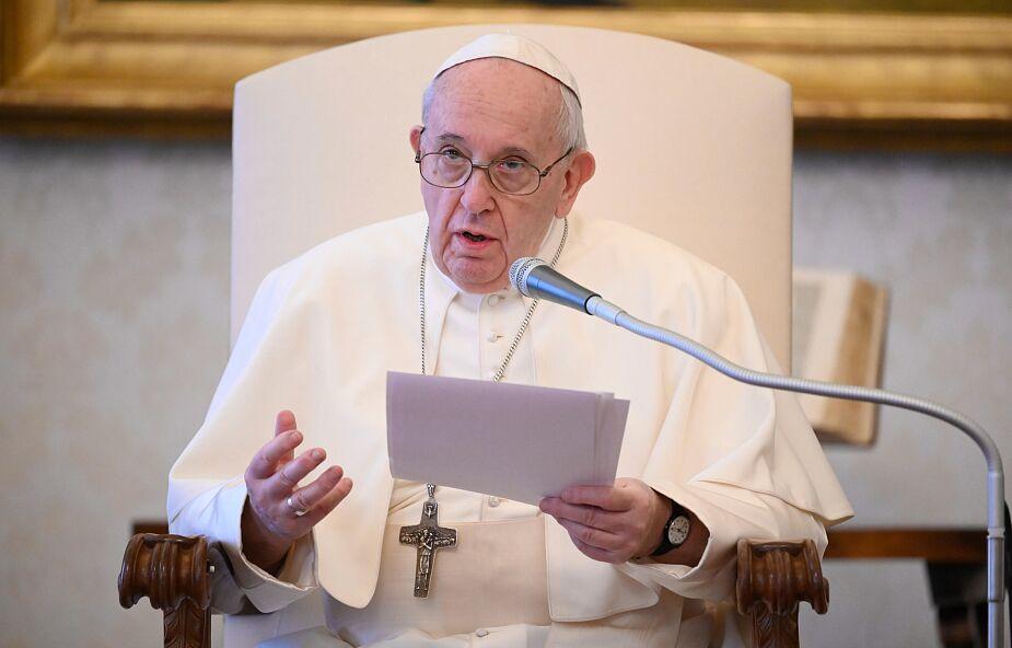 Franciszek: ludzkie życie zawsze trzeba bronić i chronić