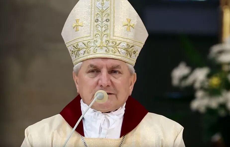 Bp Edward Janiak nie będzie jutro przewodniczył uroczystościom święceń kapłańskich