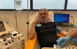 Andrea Bocelli miał koronawirusa i oddał swoje osocze do badań