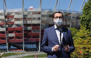 Premier Mateusz Morawiecki: powrót kibiców na trybuny 19 czerwca