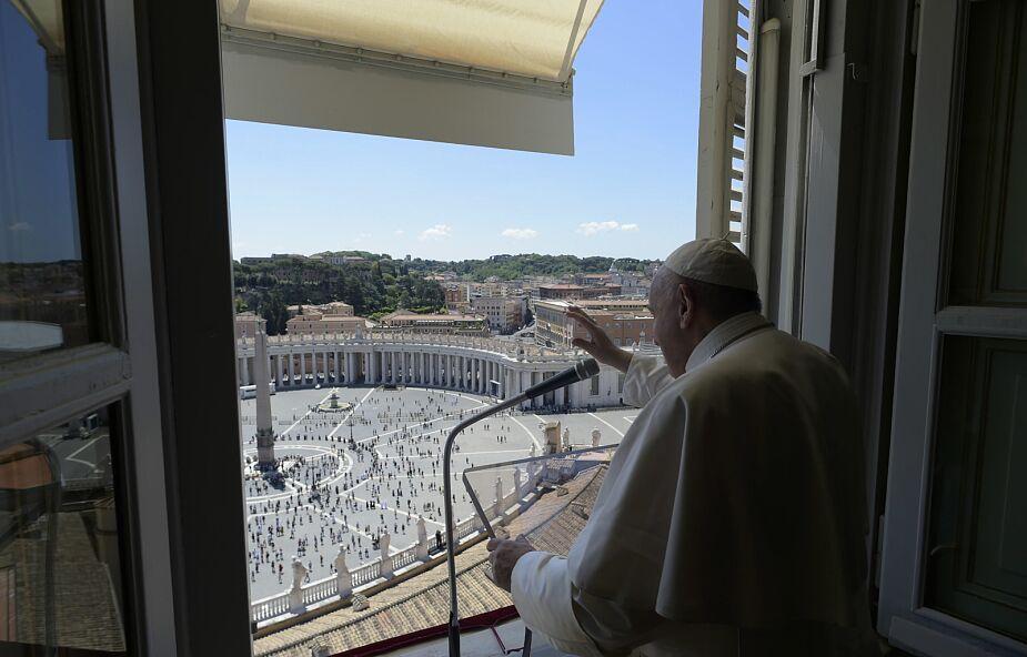 Watykan: po prawie trzech miesiącach papież odmówił modlitwę z wiernymi