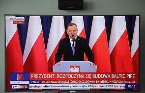 Duda: rozpoczyna się budowa Baltic Pipe, to milowy krok ku pełnej dywersyfikacji dostaw gazu