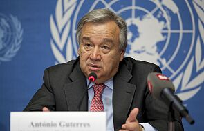 ONZ / Guterres: pandemia uruchomiła tsunami nienawiści