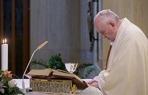Franciszek: dajmy pocieszyć się Bogu bliskości, prawdy i nadziei
