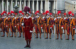 Watykan: zaprzysiężenie nowych rekrutów Gwardii Szwajcarskiej - w październiku