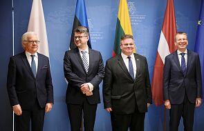 Otwarcie granic i Rosja tematami rozmów szefów MSZ Polski i państw bałtyckich