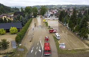IMGW: najwyższy stopień ostrzeżeń przed silnym deszczem z burzami dla Śląska i Małopolski