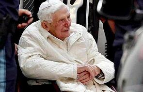 Benedykt XVI wraca do Rzymu. Czy to ostatnia taka podróż?