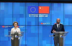 UE upomina się na szczycie z Chinami o Hongkong i równe zasady w gospodarce