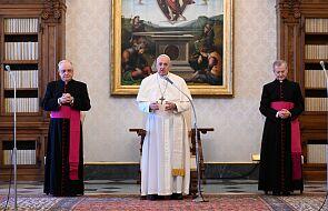 Papież Franciszek przyjął na audiencji Andreę Riccardiego