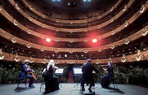 Otwarto operę w Barcelonie. Na widowni zasiadły rośliny