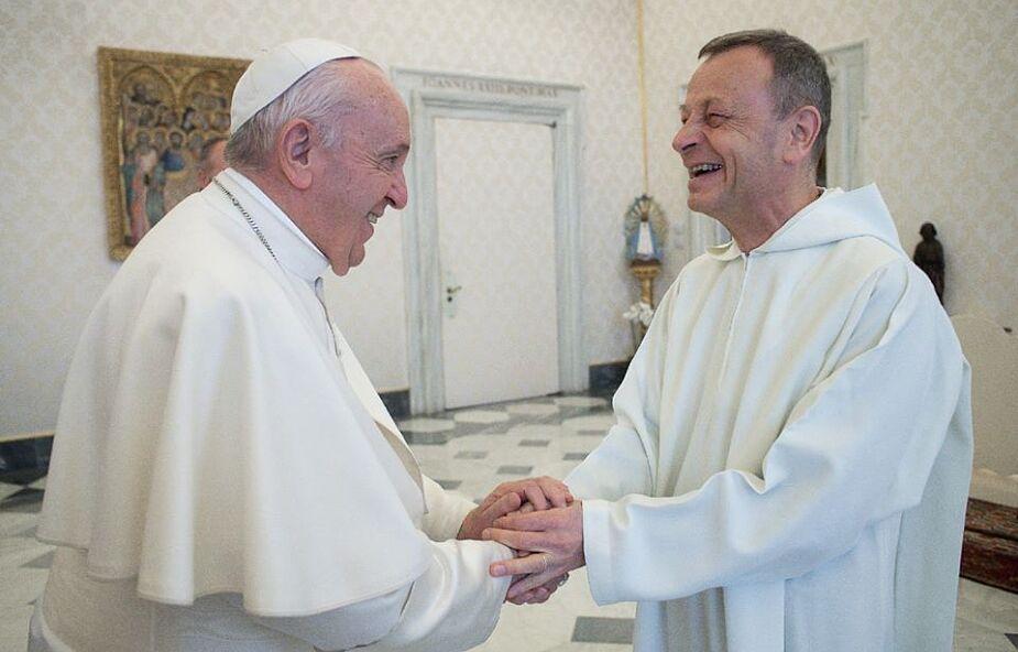 Papież Franciszek przyjął przeora Taizé