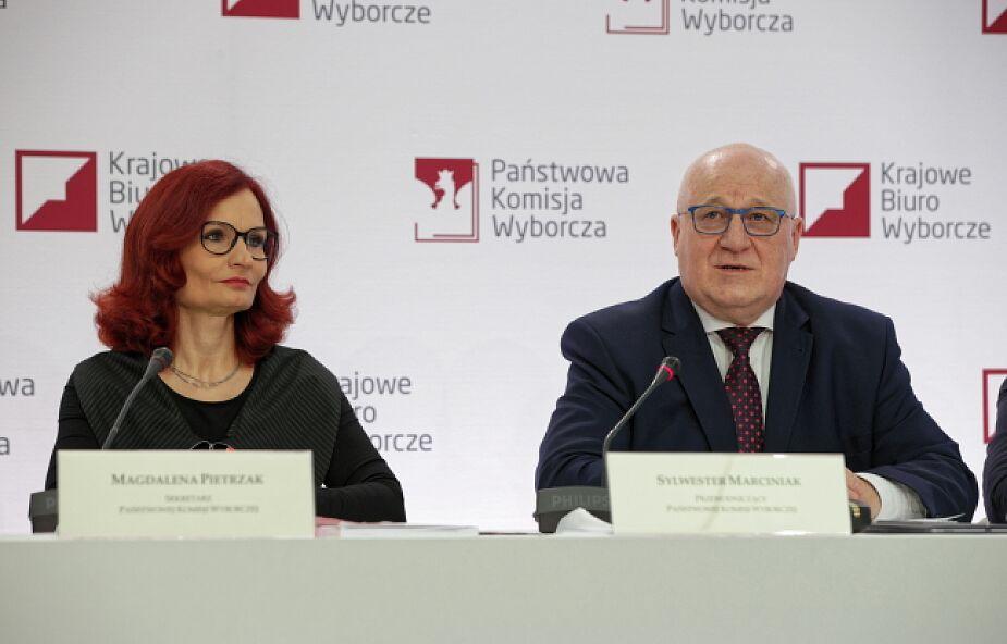 PKW na podstawie danych z 99,78 proc. obwodów: Andrzej Duda - 43, 67 proc., Rafał Trzaskowski - 30,34 proc.