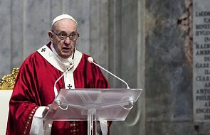 Papież popiera apel ONZ o globalne zawieszenie broni w związku z pandemią