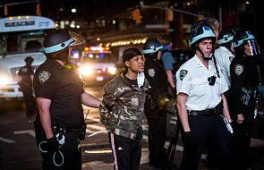 USA: godzina policyjna nie odstręczyła tysięcy ludzi od kontynuowania protestów w Nowym Jorku