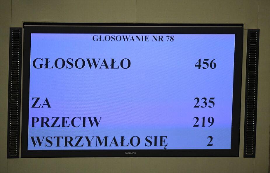 Sejm udzielił wotum zaufania dla rządu Mateusza Morawieckiego