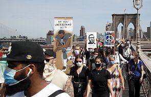 Tysiące ludzi na nowojorskim wiecu upamiętniającym George'a Floyda