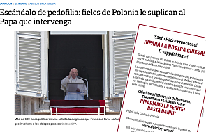 """Media w ojczyźnie Franciszka piszą o skandalach pedofilskich w Polsce: """"Polska jest nowym Chile"""""""