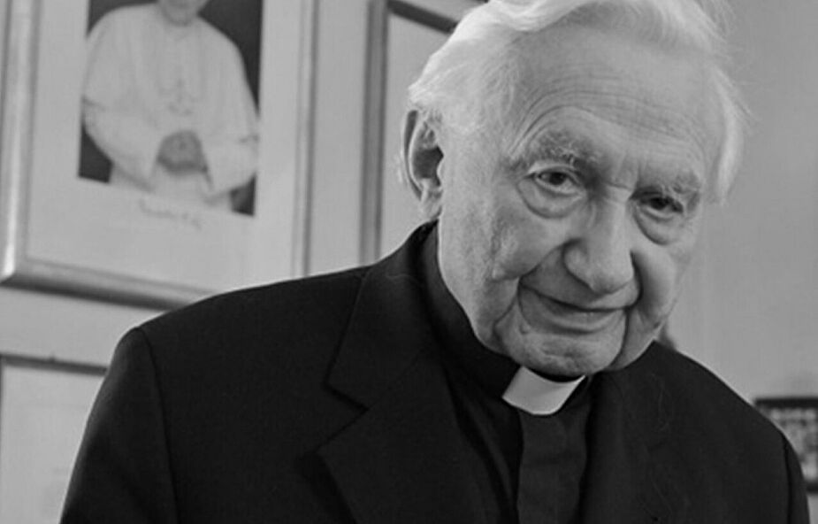 Zmarł ks. Georg Ratzinger, brat Benedykta XVI. Kilkanaście dni temu zdążyli się spotkać