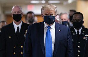 USA: prezydent Trump zmienił zdanie na temat masek w czasach epidemii