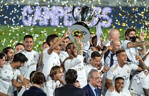 Liga hiszpańska - Real Madryt po raz 34. mistrzem kraju
