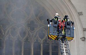 Francja: po pożarze katedry w Nantes premier wyraził solidarność z katolikami