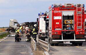 Policja: w wypadku w Bogusławicach obrażenia odniosło 28 osób
