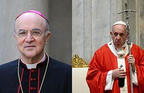 Abp Viganò prowadzi z papieżem spór, zagrażając jedności Kościoła