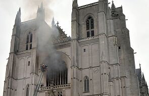 Pożar katedry w Nantes: trwa dochodzenie