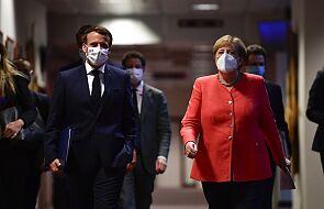 Merkel i Macron chwalą historyczne porozumienie UE ws. odbudowy po kryzysie Covid-19