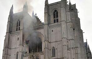 Aresztowano mężczyznę, który spowodował pożar w katedrze w Nantes