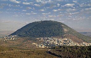 W pobliżu góry Tabor odkryto mury kościoła sprzed 1300 lat