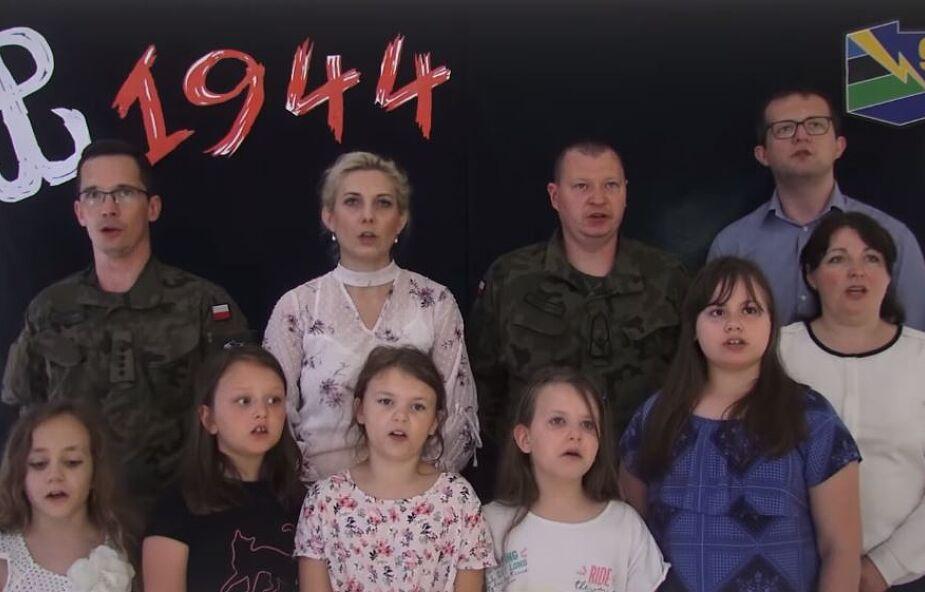 Nagrali patriotyczną piosenkę, by uczcić Warszawskich Powstańców