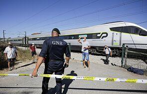 Dwie osoby zginęły, dziewięć ciężko rannych w wypadku kolejowym w Portugalii