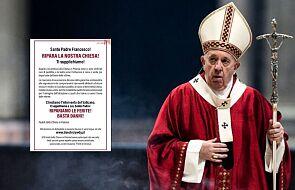 Apel świeckich do Franciszka jest walką z Kościołem? To absurdalny zarzut