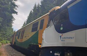 Czechy: co najmniej trzy osoby zginęły, 30 rannych w katastrofie kolejowej