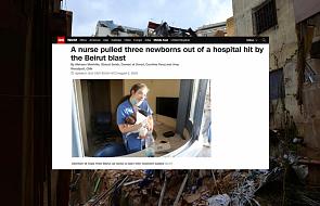 Bejrut: pielęgniarka uratowała w chwili wybuchu troje wcześniaków