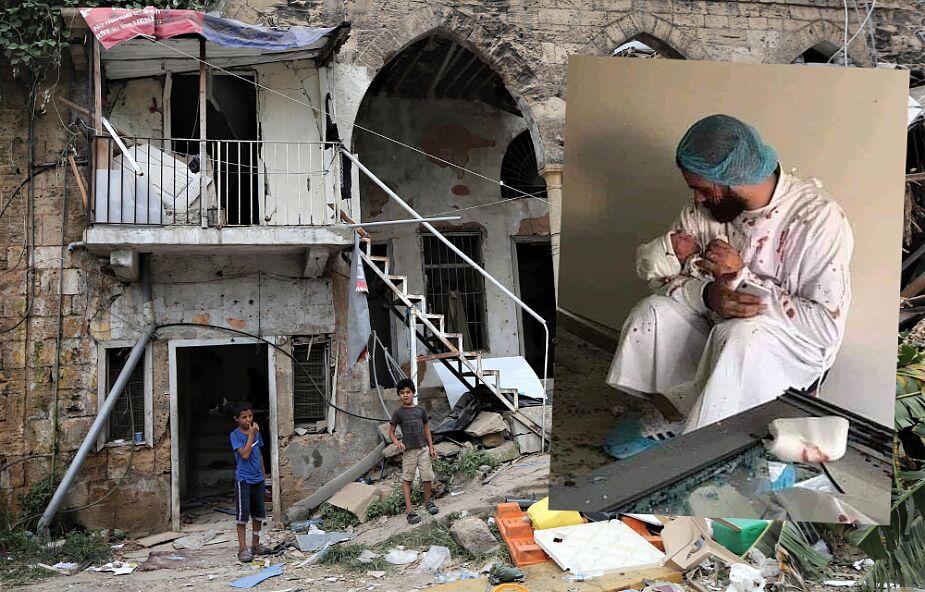 Dwoje dzieci przyszło na świat w czasie eksplozji w Bejrucie. Poruszające zdjęcia obiegły świat