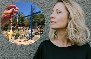 Kasia Olubińska: to przejmujący widok, takiego Medjugorie nie znałam