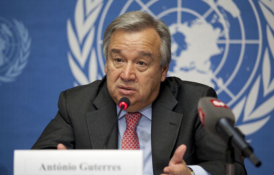 Sekretarz generalny ONZ ostrzega przed zagrożeniem dla pokoju na skutek COVID-19