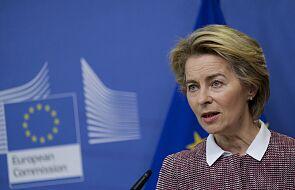 Von der Leyen: potrzebne sankcje dla naruszających prawa człowieka na Białorusi